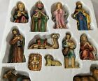 Nativity Set 12 Piece Porcelain Holiday Time Christmas Large 6 Original Box