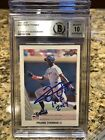 Frank Thomas Rookie Cards and Autograph Memorabilia Guide 40