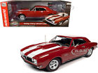 1967 CHEVROLET CAMARO Z 28 NICKEY RED MCACN 1 18 DIECAST MODEL AUTOWORLD AMM1228