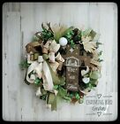 Christmas Wreath Winter Wreath Nativity Wreath Christmas Decor Jesus Decor