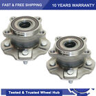 2 Rear Wheel Hub Bearing Assembly for Toyota Highlander Lexus RX350 RX450h AWD