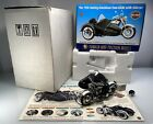 Franklin Mint 1958 Harley Davidson Duo Glide  Sidecar Black 110 Diecast Bike
