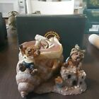 New 1995 Bailey & Huck...Whee!!! Votive Boyds Bears 27752