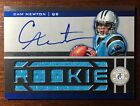 2011 CAM NEWTON ROOKIE PATCH AUTO ON CARD - TOTALLY CERTIFIED MVP - PATRIOTS