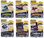 VINTAGE AD CARS SERIES 3 6 PC SET 1 64 DIECAST MODEL CARS BY GREENLIGHT 39050
