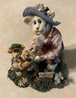 Boyds Bears And Friends Momma Meowster And Hank 8250 Purrstone Spring Easter