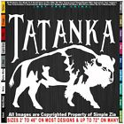 Native American Tatanka Bison Buffalo facing right Sticker Decal