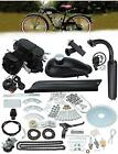 2 Stroke 50cc Bicycle Petrol Gas Motorized Engine Bike Motor Kit Set Black