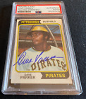 Dave Parker Signed Autograph 1974 Topps Rookie Card PSA DNA Pittsburgh Pirates