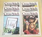 Cross Stitch  Country Crafts Magazine FULL YEAR 1990 LOT of 6 Issues