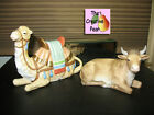 Home Interiors Nativity Addition Set A Savior is Born Animals 52033 99 Camel Cow