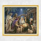 Nativity Cross Stitch Jesus Birth Christmas Pattern Needlework Sets Embroidery