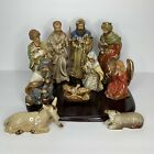 Kirklands Potter Garden II Christmas Nativity Set 11 Piece Complete Set 060840