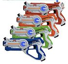 Kidzlane Laser Tag Set Of 4 New Condition Repacked In Brown Box