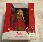 NIB Holiday Barbie Caucasian 2nd in Series 2014 Collectible Heirloom Ornament