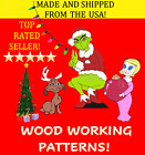 GRINCH CINDY LOU and MAX BUNDLE YARD ART PATTERNS FOR WOOD CUTOUT LAWN DISPLAY