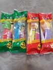 VTG LOT OF 4 Muppets PEZ Dispensers - Kermit, Miss Piggy, Gonzo, Fozzie Bear NIP