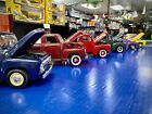 Collection of 6 Diecast 1950s 118 Scale Trucks All Ford  One GMC All Clean