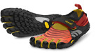 Vegan Vibram FiveFingers SPYRIDON Orange Black Trail Running Shoes Size 38 New