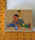 Bert and Ernie Rubber Stamp by Stampabilities