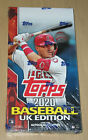 2020 Topps baseball UK edition sealed HOBBY box