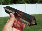 SMOKEY Quartz VOGEL Inspired Style Crystal DT Point Wand Super Clear Smoky