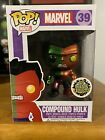 Funko Pop Marvel Compound Hulk Metalic 39 Toy Anxiety Exclusive w Hard Protector