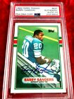 1989 TOPPS TRADED 83T BARRY SANDERS SIGNED AUTOGRAPH PSA DNA 10! AUTO 10!