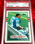 1989 TOPPS TRADED BARRY SANDERS RC ROOKIE #83T PSA 10 GEM MINT