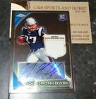 2010 Topps Chrome Rob Gronkowski Rookie Autograph Auto Mint Patch 08 25 C112