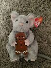 TY Beanie Baby Stirring the Mouse DOB December 12, 2006 MWMT Free Shipping