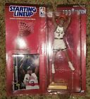 1990 Patrick Ewing New York Knicks Starting Lineup figure with two cards