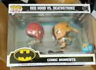 SDCC 2020 PX Previews Exclusive Funko POP Red Hood vs. Deathstroke MINT