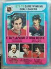 1979-80 Topps Hockey Near Complete Set, Missing 6 cards