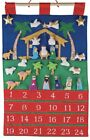 Nativity Fabric Advent Countdown Keepsake Calendar Palm Tree Manger VC200 Manger