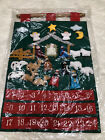 Vintage Fabric Christmas Advent Calendar Nativity Scene Pockets Jesus Quilted