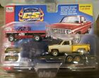 Auto World 1974 and 1975 Chevy Silverado Flatbed Trailer CPCC Event Exclusive