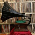 Victor Monarch Phonograph circa 1905 horned 78rpm record player