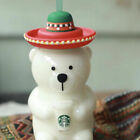 Hot New Limited Edition Starbucks Cute Bear Milk Cup Large Glass Cup Straw Mug