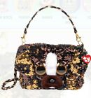TY Beanie Boos FASHION GEAR Color Changing Sequin BRUTUS Shoulder Bag/Purse