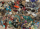 Huge Lot Mod To Vintage Jewelry Mixed Jewelry Makers Dream  Resale 165 Pound