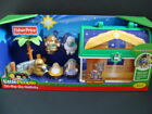 NEW LITTLE PEOPLE Nativity Set On the Go Baby Jesus Manger Kids Toy Carry Case