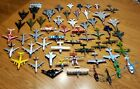 Diecast Airplanes lot of 54 Mattel used WW2 Fighter jets airliner plane