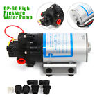NEW DC12V 40W High Quality Micro High Pressure Diaphragm Pump 5L MIN 60psi DP 60