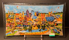 Peggy Karr Kansas City Skyline Glass Tray 13 3 4 x 7 1 2