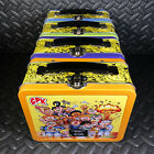GARBAGE PAIL KIDS LATE TO SCHOOL SET OF 4 NEW COLLECTORS LUNCH BOX 2020 lunchbox