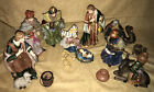 Vintage SPECIAL TIMES Porcelain Large Nativity Set 10 Piece ORIGINAL PACKAGING