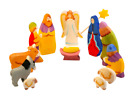 Wooden Nativity Set for toddlers