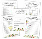 Inkdotpot Bachelorette Party Games Set Bundle Of 5 Activities For pF1