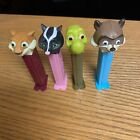 Over The Hedge Pez Dispensers Turtle Skunk Squirrel Raccoon RJ Hammy Verne
